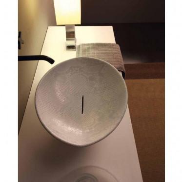 Afya lavabo da appoggio Pitone Bianco