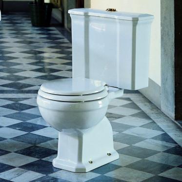 Albano vaso monoblocco scarico terra completo di cassetta bianco