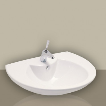 Lavabo 60 cm Eos Punto bianco