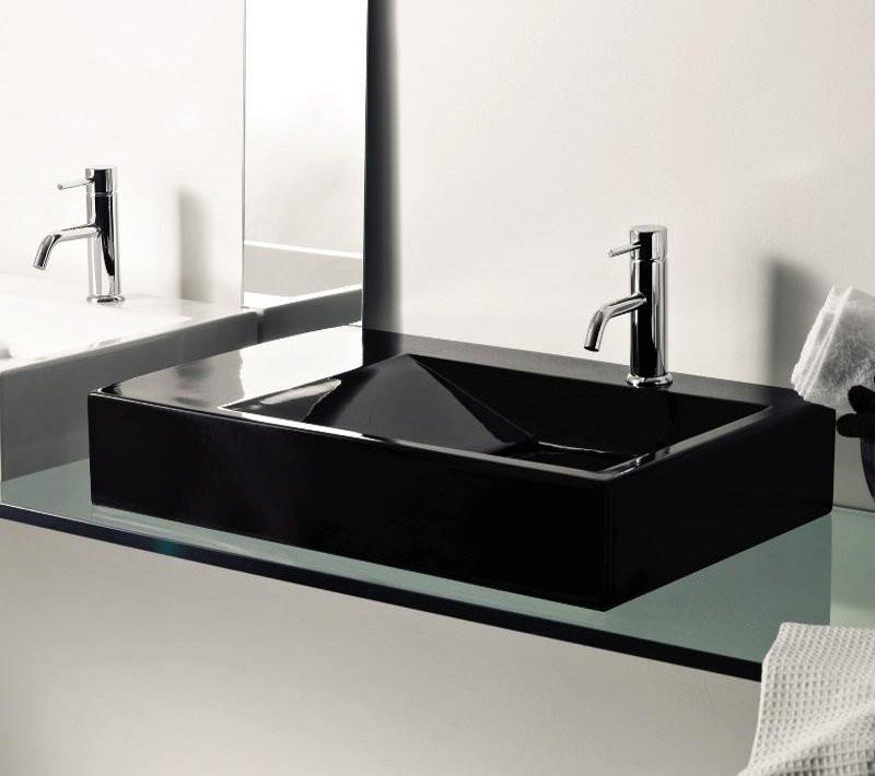 Lavabo da appoggio nero termosifoni in ghisa scheda tecnica - Lavabo nero bagno ...