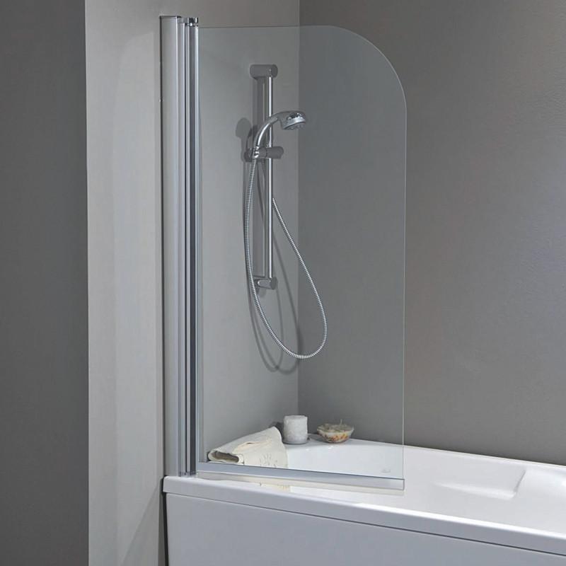Parete vasca 2300s da 70 cm in cristallo 4 mm - Parete per vasca da bagno ...
