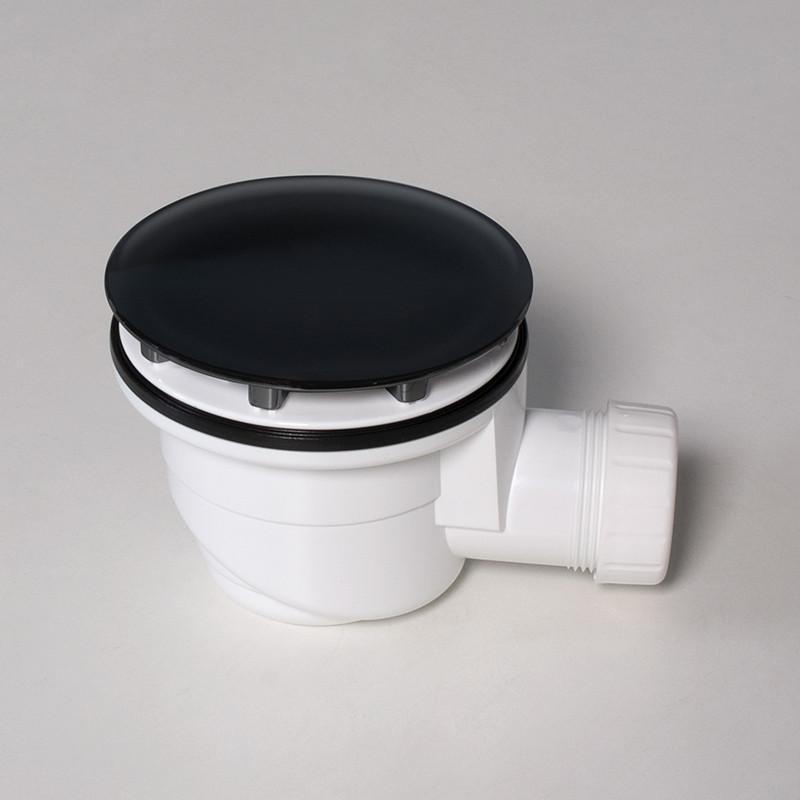 Piletta per piatto doccia 90 mm nero kasashop opaco - Pilette per doccia ...