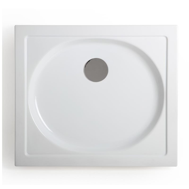 Piatto doccia rettangolare splash 70x80 cm bianco kasashop - Dimensioni piatto doccia rettangolare ...