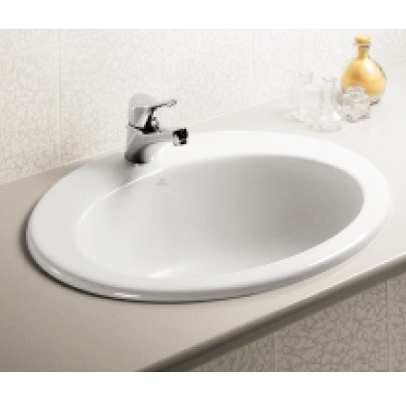 Vanitory lavabo da incasso tre fori bianco ideal - Lavabo bagno da incasso ...