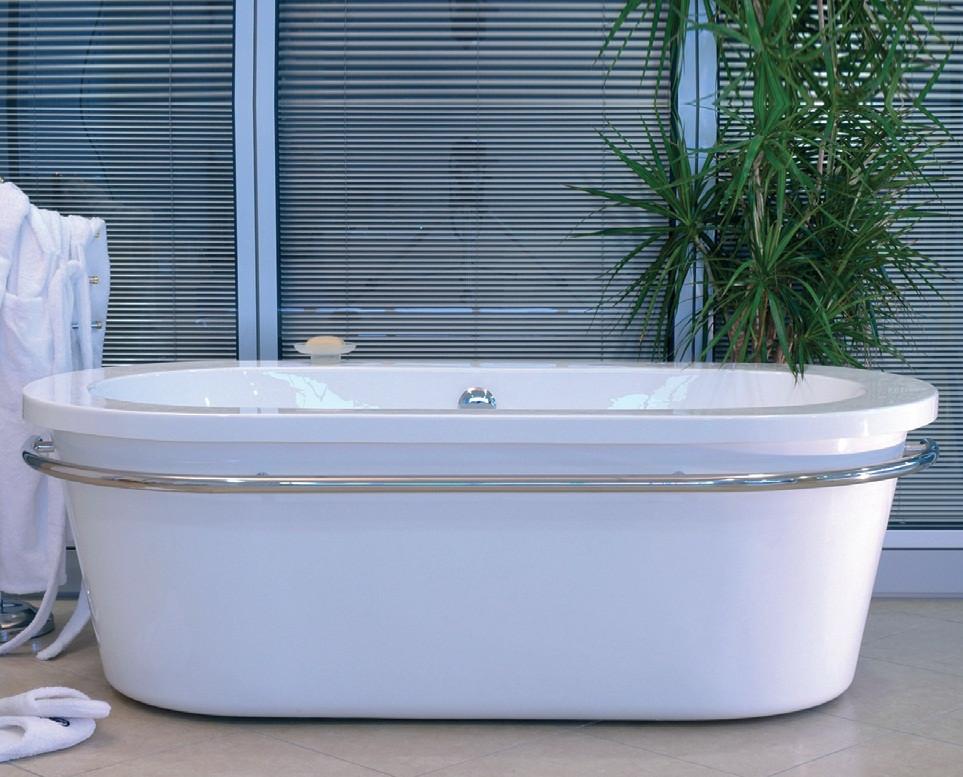 Vasca da bagno freestanding xena 174x90 cm bianco - Vasca da bagno freestanding ...