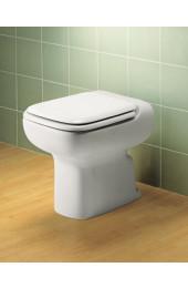 Conca vaso scarico parete bianco Ideal