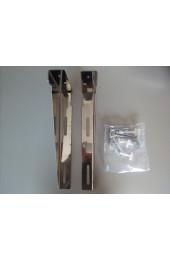 Mensole per lavabo Disabili coppia acciaio lucido