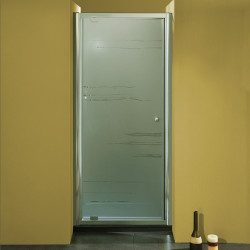 Porta doccia ad un battente 3303 da 86/94 cm in cristallo 6 mm