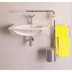 Accessorio combinato lavabo Four Dimension cromo