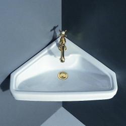 Albano lavabo angolare 45 cm Bianco