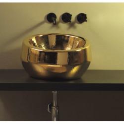 Thabo lavabo da appoggio Luxury Gold