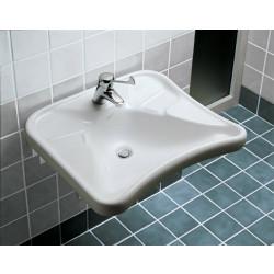 Atlantis lavabo ergonomico bianco