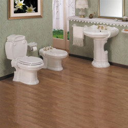 Alfa bagno completo 5 pezzi monoblocco Bianco