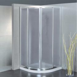 Box doccia semicircolare scorrevole 2900 da 80 cm crilex 3 mm