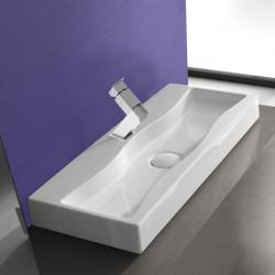 Breeze lavabo da appoggio bianco