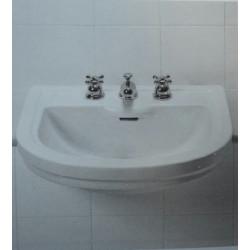 Calla lavabo semicasso monoforo 63 cm bianco Ideal