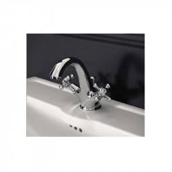 Charme rubinetto lavabo monoforo cromo