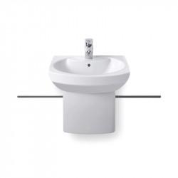 Dama Senso Compacto lavabo 58 cm bianco