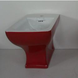 Dorian bidet monoforo Red & White