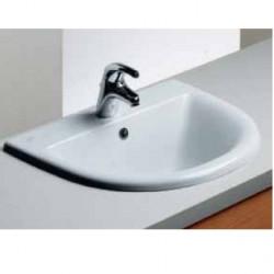 Fiorile lavabo da incasso 61x50 cm bianco Ideal