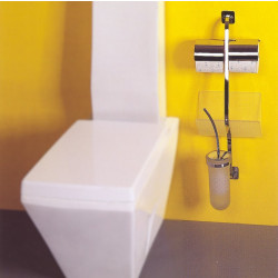 Accessorio combinato vaso Four Dimension cromo