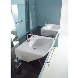 Four Dimension lavabo da appoggio o sospeso bianco