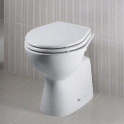 Gemma vaso scarico parete bianco Ideal