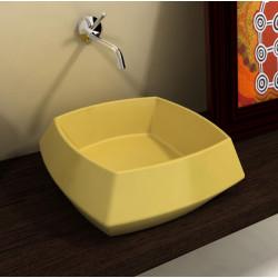 Hasana lavabo da appoggio Yellow