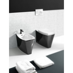 Ice bidet monoforo Black & White