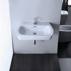Ice lavabo sospeso bianco