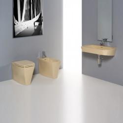Ice bagno completo 3 pezzi Yellow satinato