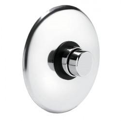 Rubinetto a pulsante per doccia incasso con arresto temporizzato (08140) cromo