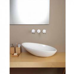 Biko lavabo da appoggio Bianco