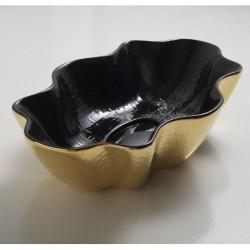 Seastar lavabo da appoggio ExtraLuxury Black&Gold