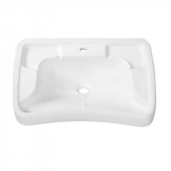 Lavabo per disabili Tecko 70 cm bianco
