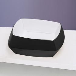 Hasana lavabo da appoggio Black & White