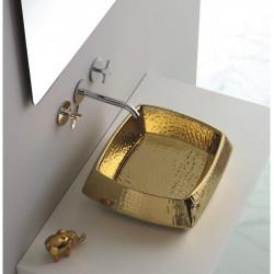 Hasana lavabo da appoggio Luxury Gold