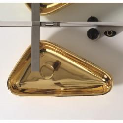 Scalene lavabo da appoggio Gold