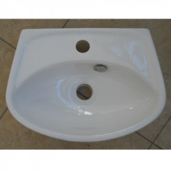 Lavamani 47x35 cm bianco