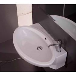Limit lavabo sospeso destro bianco