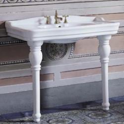Monnalisa lavabo consolle 101 cm bianco