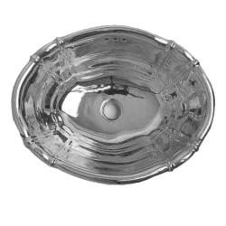 Old America lavabo da incasso 49 cm platino lucido