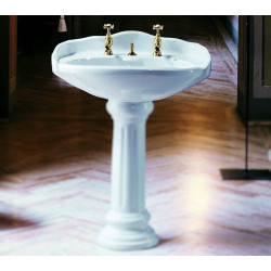 Old Time lavabo 70 cm Bianco