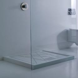 Nest piatto doccia quadrato 90x90x6 cm bianco