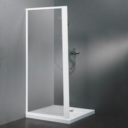Parete doccia fissa 3500 da 64/70 cm in cristallo 4 mm