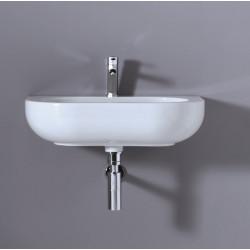 Pearl lavabo da appoggio o sospeso Bianco