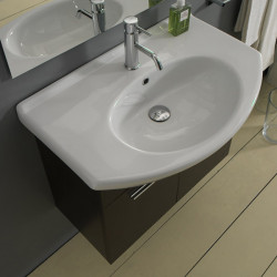 People lavabo consolle 65x45 cm bianco