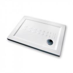 Piatto doccia 100x70 cm rettangolare 5.5 extrapiatto bianco