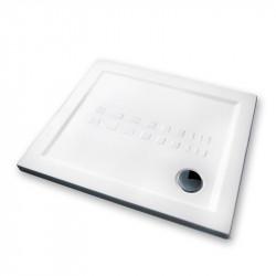 Piatto doccia 100x80 cm rettangolare 5.5 extrapiatto bianco