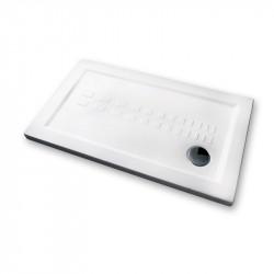 Piatto doccia 120x70 cm rettangolare 5.5 extrapiatto bianco